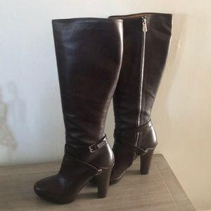 Ralph Lauren Collection Heeled Boots, (Size 10)